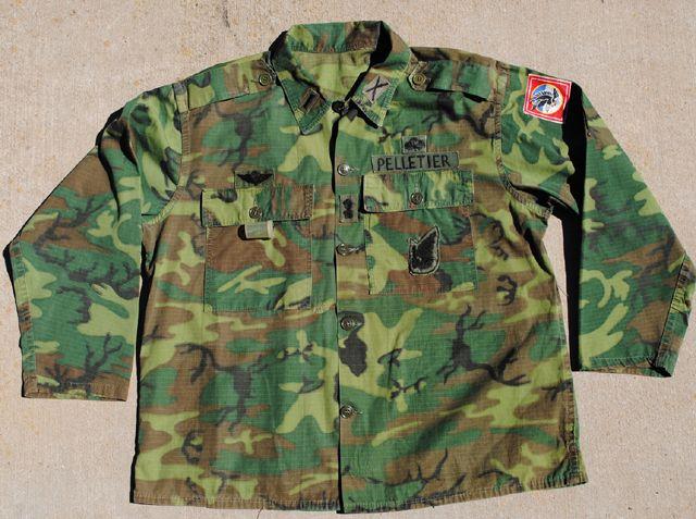 Arvn Airborne Advisor S Uniform And Engraved Gerber Mk Ii