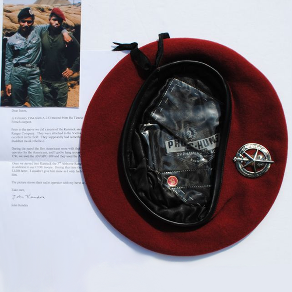 Documented-Red-LLDB-Beret--#511