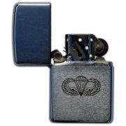 Eugene Grapa's engraved Zippo lighter. (4)