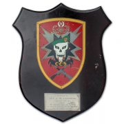 Jerome Ledzinski's Command and Control South (CCS) plaque.