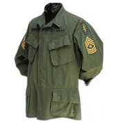 Albert Slugocki's badged uniform top. 2
