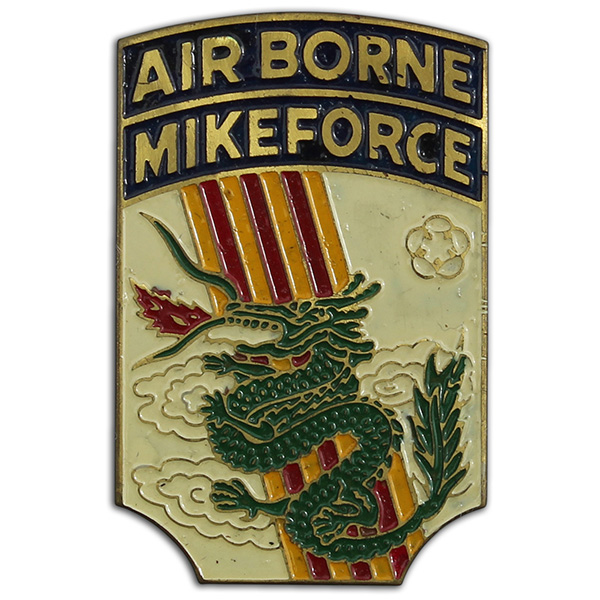 IV Corp Mike Force Beer Can. 1A