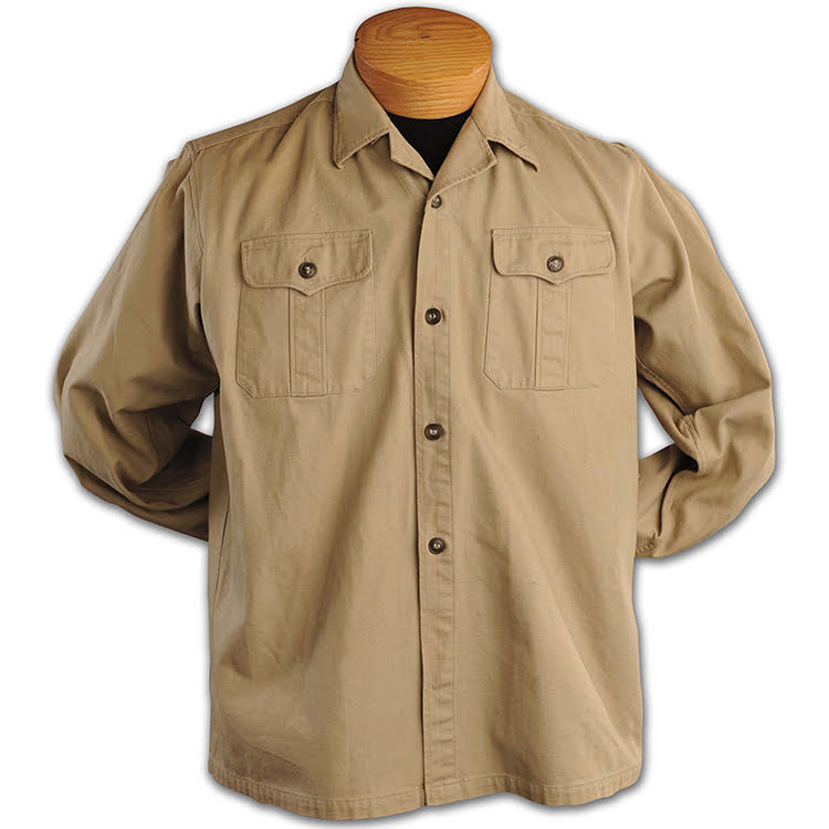 Robert Cook's CISO manufactured NVA winter uniform top.