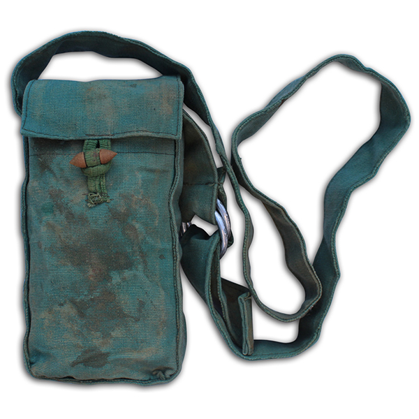 Robert Cook's Captured NVA pouch. 1B