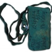 Robert Cook's Captured NVA pouch. 1E