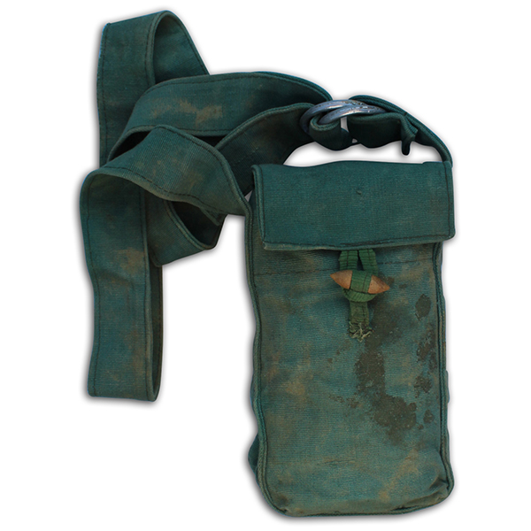 Robert Cook's Captured NVA pouch. 2B