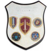 Roger Pezzelle's SOG Headquarters OPS-35 plaque.