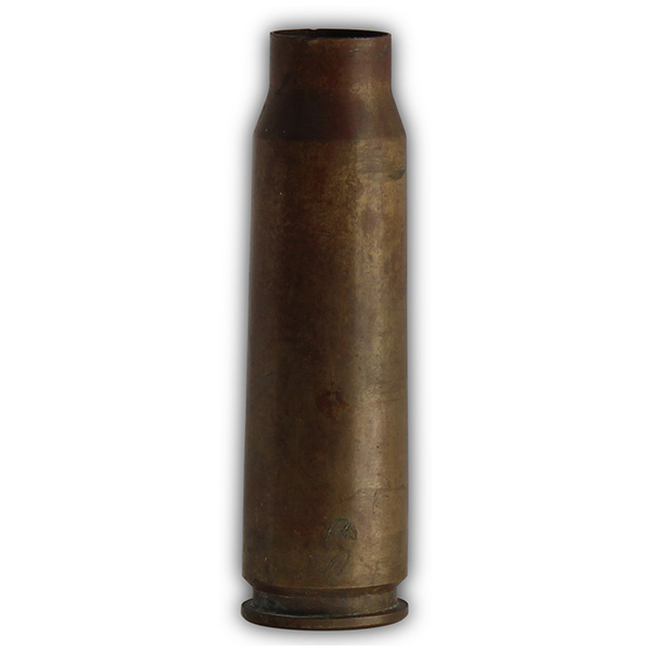 Terrence Lanegan's captured 51MM shell casing.