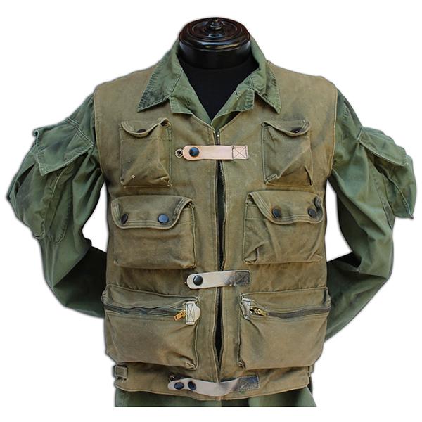 Charlie Frank's 1-0 (One-Zero) vest.