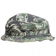 Jackie Thornton's tiger stripe beret. (3)
