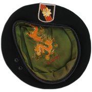 Donald Jutz embroidered beret. 2