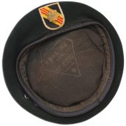 Donald Jutz issued beret with incountry flash. 2 (2)