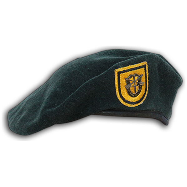 Grant Bollenbach's 1st SFG Beret. 1A