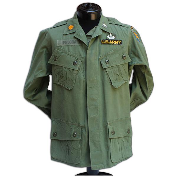 Father Arthur Craig's badged 1st model uniform. 1A