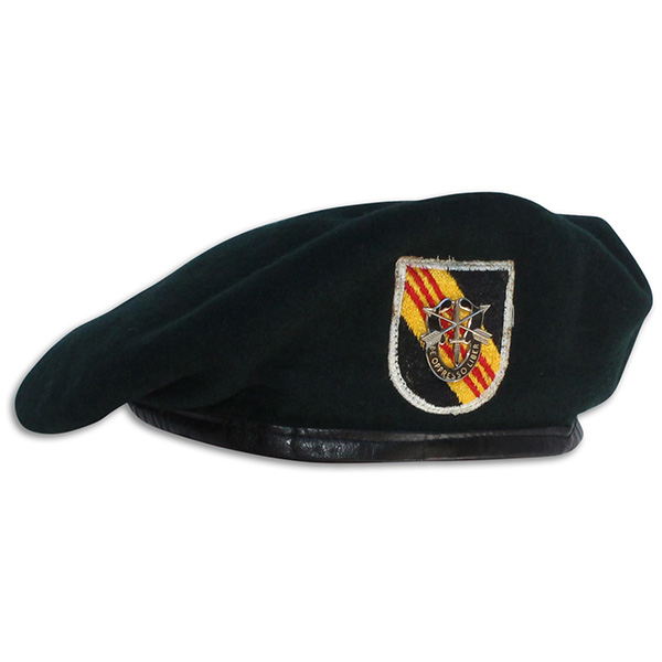 Gerald Grant's 5th Special Forces Group Beret. 1A