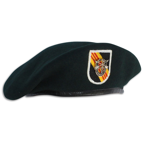 Gerald Grant's 5th Special Forces Group Beret. 2A