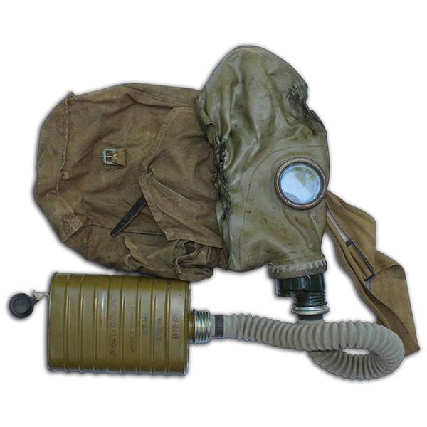 Peter Holberg's captured NVA Gas Mask. 1A