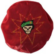 Tommy Tomlin's embroidered beret. 1C