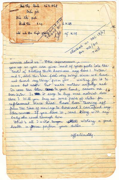 Captured NVA Letter (Grant) 2
