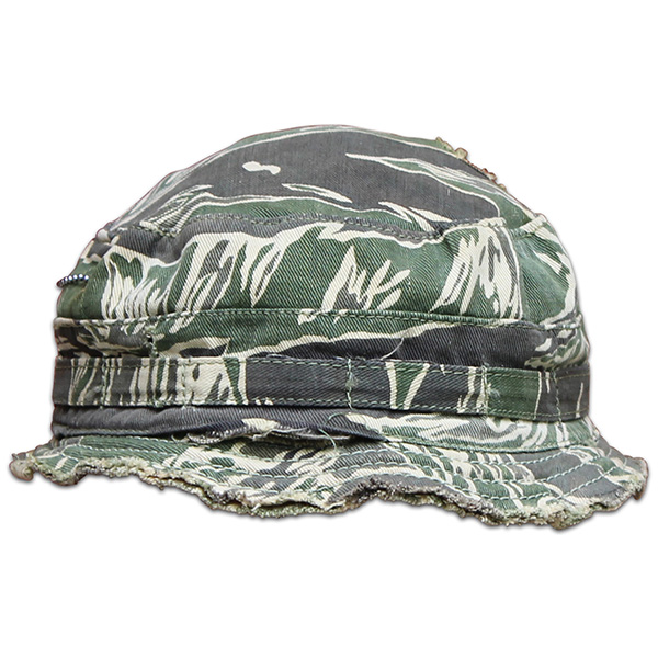 Jackie Thornton's tiger stripe beret. (2)